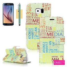 S6 Case, Galaxy S6 Case, S6 Flip Case, OMIU(TM) [Printed Pattern Series & Photo Frame Design] Fashion Premium PU Leather Stand Wallet Flip Case Cover Fit For Samsung Galaxy S6, Sent Stylus, Screen Protector and Cleaning Cloth-[R4]