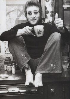 Tea with John Lennon