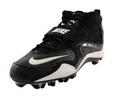 Athletic NIKE Mens Merciless Shark Football Black White Cleats Shoes Sz 14  NEW  Nike Shark 317a582e3
