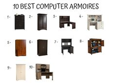 computer armoires buying guide home furniture design