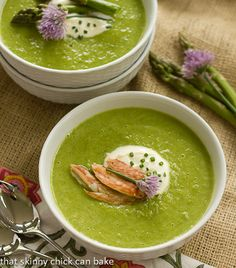 Asparagus Soup for #FrenchfridayswithDorie #soup