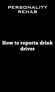 Drink driving: the impact Drink driving is deadly. In people in the UK were hurt by drink drivers – and 220 were Everybody knows that drink driving is against the law. Drunk Driving, Personality Types, It Hurts, Drinks, Drinking, Beverages, Drink, Beverage