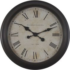 "18"" Global Glenmont Clock - Overstock™ Shopping - Great Deals on Clocks"