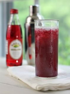 Winter signiture drink: pineapple and cranberry juice with a splash of grenadine--add vodka or tequila