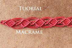 pulsera macrame rapida y facil | pulseras de hilo