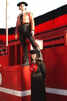 White Stripes photo: Jack White and Meg White