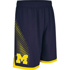 Adidas University of Michigan Basketball Navy #MadeInMarch Shorts