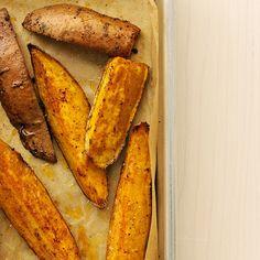 Chili-Roasted Sweet Potato Wedges Recipe   Martha Stewart
