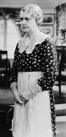 """Clara Blandick (1881 - 1962) Actress. She is best remembered for her role of Auntie Em in the 1939 film classic, """"The Wizard of Oz."""""""
