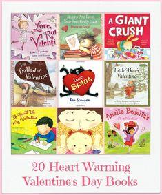 20 Valentine Children's Picture Books You Will Love | The Jenny Evolution