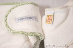 Comparison of Orange Diaper Co & Sustainablebabyish bamboo fitteds.