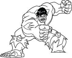 hulk coloring page - New Hulk Coloring Page, avengers the hulk coloring page free printable coloring pages Flower Coloring Pages, Mandala Coloring Pages, Coloring Pages For Kids, Hulk Superhero, Hulk Avengers, Superman Coloring Pages, New Hulk, Fairy Drawings, Hand Coloring