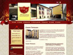 Web design Hotel Arizona din Timisoara