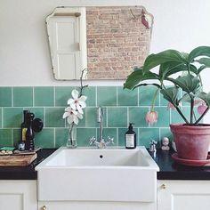 green with tile envy. / sfgirlbybay