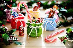 New Pattern � Mini Crochet Pouches