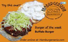 Hamburgerseria.com Burger of the week!!! Looks Good!!!