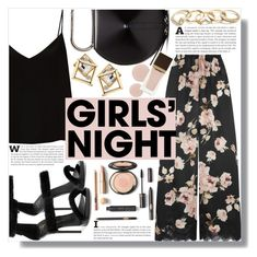 """""""Hey, Besties: Girls' Night (2)"""" by sc-styles ❤ liked on Polyvore featuring Rosamosario, Giuseppe Zanotti, Raey, 3.1 Phillip Lim, GUESS and Tom Ford"""