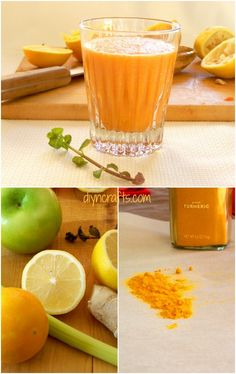 {Easy Recipe} The Most Powerful Natural Antioxidant Smoothie That Beats Any Cleanse - Health benefits: anti-inflammatory, cancer-fighter, weight loss, liver detox, pain relief,  lowers cholesterol, regulates blood sugar.
