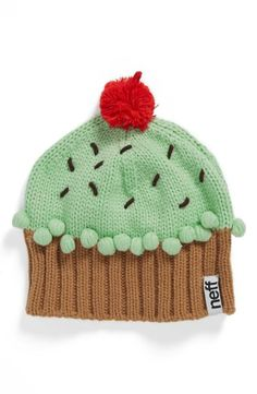Too cute! Cupcake beanie