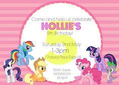 Free Birthday Invitation Templates My Little Pony Check More At Cardpedia