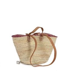 Our Moroccan Shopping Baskets are natural handwoven baskets made from sustainable palm leaf and provide an eco-friendly alternative to plastic bags. Ethically produced in Morocco exclusively for Bohemia. Small Tote Bags, Beach Tote Bags, Alternative To Plastic Bags, Sequin Backpack, Basket Bag, Leather Clutch Bags, Costume, Shopper Tote, Leather Handle