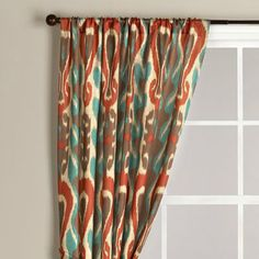 IVE GOT TO GET THESE Gold And Red Suzani Cotton Curtain
