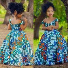 Latest Ankara Dress Styles - Loud In Naija Ankara Styles For Kids, African Dresses For Kids, Ankara Dress Styles, African Print Dresses, African Fashion Ankara, Latest African Fashion Dresses, African Print Fashion, Ankara Mode, Ankara Clothing