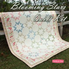 Blooming Stars Quilt KitFeaturing Attic Treasures by Gerri Robinson of Planted Seed Designs - Quilt Kits | Fat Quarter Shop