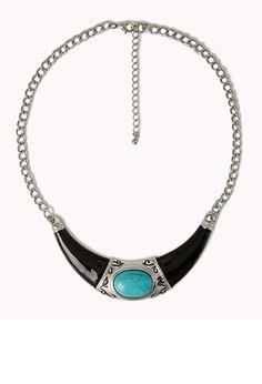 Out West Bib Necklace | FOREVER21 - 1055129985