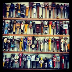 Beer taps | Flickr - Photo Sharing!