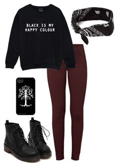 """Untitled #26"" by e-and-h ❤ liked on Polyvore featuring J Brand and claire's"