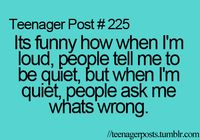 Lol  my friends were super loud today and wouldn't stop arguing  i was about to smack them both! They were so annoying!!
