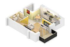 Duplex 3 camere, 65 mp, Tip A, Avantgarden 3