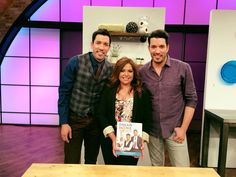 It's always have a blast visiting Rachael at The Rachael Ray Show. Make sure to catch today's episode as we show you ways to make your house a #DreamHome. — with Drew Scott and The Rachael Ray Show.