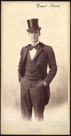 Hungarian actor, Dezso Josef.