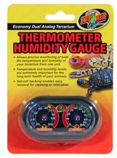 Zoo Med Economy Analog Dual Thermometer and Humidity Gauge, http://www.amazon.com/dp/B004PBB1JE/ref=cm_sw_r_pi_awdm_Cx.4vb0GSGFXK