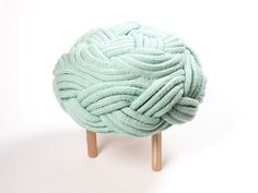 Claire-Anne O'Brien: Corda stool.