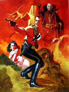 Sanjulian Flash Gordon Comic Art
