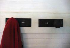 Doorknob become hooks