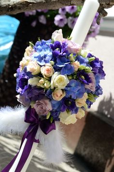 Purple Bridal Bouquets, Roses, Table Decorations, Purple, Flowers, Wedding, Valentines Day Weddings, Wedding Bouquets, Pink