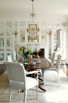 Freshen your Home for the New Year {Part II- mirrors} Interior design by Suellen Gregory