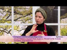 Derya Baykal'la Gülümse: Peynir Altı Suyu ve Probiyotik Kvass Yapımı - YouTube