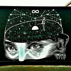 Dourone - street art paris 10 - quai 36 gare du nord aout 2015