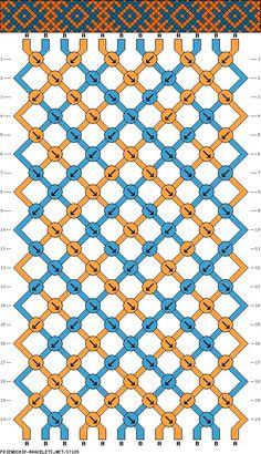 #37185 - Tribal Diamond Pattern