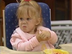 Her expression makes me fear for my life. Michelle Tanner, Michelle Full House, Funny Videos For Kids, Funny Kids, Ful House, Best Memes, Funny Memes, Full House Quotes, Current Mood Meme