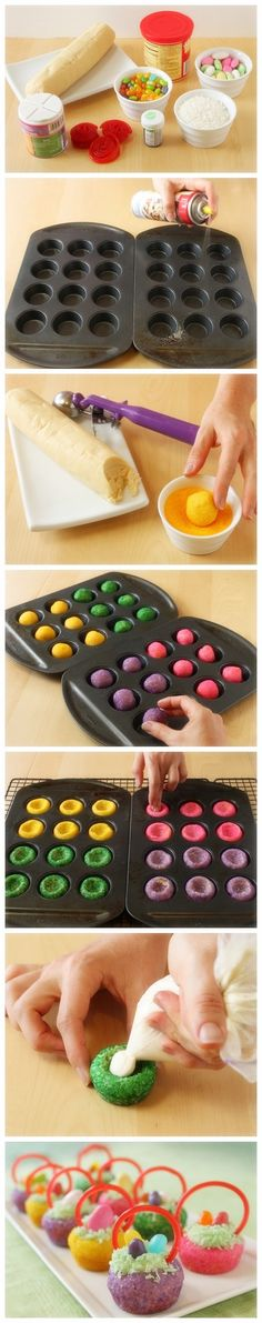 Easter Basket Cookies - great idea to give to kids!s - Joybx