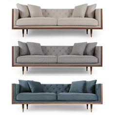 Outstanding 53 Best Mid Century Modern Sofas Images In 2019 Mid Ibusinesslaw Wood Chair Design Ideas Ibusinesslaworg