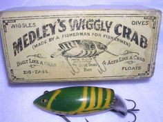 Old-School Baits: 30 Antique Fishing Lures and Why They& Collectible Trout Fishing Tips, Vintage Fishing Lures, Fishing Knots, Fishing Bait, Best Fishing, Saltwater Fishing, Fishing Tackle, Fishing Stuff, Catfish Fishing