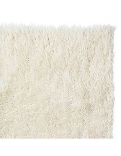 Super Area Rugs-Cozy Collection-White Flokati Wool Shag Rug When you buy a Flokati Rug White Shag Rug, White Rug, Solid Rugs, Shag Carpet, Textiles, Natural Rug, Carpet Design, My Living Room, Ideas