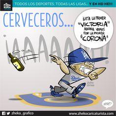 "#ElCartonDelDia para @PurakuraWeb""UNO DE CERVECEROS"" @theteenager7@Dodgers@LosDodgers@DodgersNation#Urias #MLB"